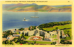 "Veteran's Hospital, Fort Miley, Overlooking ""The Golden Gate"""
