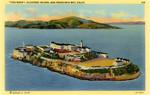 """The Rock,"" Alcatraz Island, San Francisco, California"