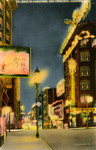 Night in Chinatown, San Francisco, California