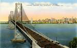 San Francisco-Oakland Bay Bridge Looking Towards San Francisco, California