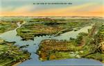 United States – California – Air View of the Metropolitan Bay Area