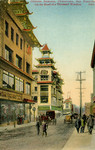 Chinese Bazaars, Chinatown, San Francisco, on the Road of a Thousand Wonders