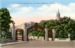 Sather Gate, University of California, Berkeley, California