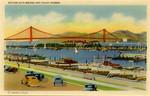 United States – California – San Francisco – Golden Gate Bridge and Yacht Harbor