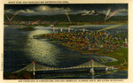United States – California – Night View of San Francisco Bay Metropolitan Area