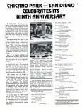 "Article from Lowrider Magazine: ""Chicano Park - San Diego Celebrates its Ninth Anniversary"" by Carol Amezcua"