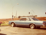 Amigos Car Club: Photograph of 1977 Ford LTD owned by Arturo Sorro Herrera; photo taken at the Dairy Queen parking lot, around the corner of Beyer Blvd and Coronado Ave in South Bay