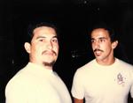 Amigos Car Club: Photograph of Billy Tomasula (right)