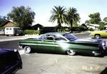 "Amigos Car Club: Photograph of 1959 Chevrolet Impala (""Azteca"") owned by Rigo Reyes"