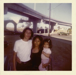 Brown Image Car Club:  Photograph of a family at Chicano Park