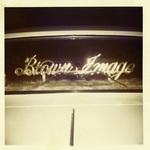 Brown Image Car Club: Plaque