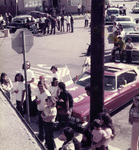 Brown Image Car Club: Photograph of a block party at the clubhouse