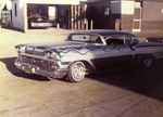 Brown Image Car Club: Photograph of a fully customized 1958 Chevrolet Impala belonging to Tony Rios
