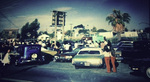 Brown Image Car Club: Photograph of a block party hosted by the club