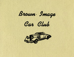 Brown Image Car Club: Invitation to a potluck dinner hosted by the club (front cover)
