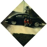 Chicano Brothers Car Club: Photograph of David Aguilar and sons with a 1965 Chevrolet Impala