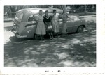 Chicano Brothers Car Club: Photograph of a 1952 Chevrolet wagon belonging to David Aguilar's father, Francisco Aguilar