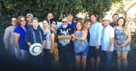Domestic Rides Car Club: Photograph of members of the Domestic Rides Car Club with their families