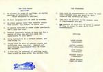 Domestic Rides Car Club: Document of club rules, club officers, and club logo