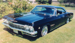 Domestic Rides Car Club: Photograph of a 1966 Chevrolet Impala