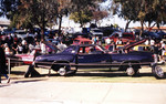 "Individuals Car Club: Photograph of ""Purple Rain,"" a 1977 Chevrolet Monte Carlo owned by Alejandro Lemus"
