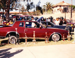 Individuals Car Club: Photograph of a car with its many trophies