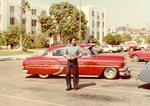 Korner Car Club: Photograph of Ruben Carrillo's 1954 vehicle at the Korner Car Club Hop