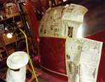 Latin Lowriders Car Club: Photograph of a 1952 Sedan Delivery in the process of being painted
