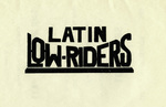 Latin Lowriders Car Club: Invitation featuring the Latin Lowriders logo