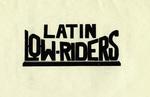Latin Lowriders Car Club: Invitation featuring the Latin Lowriders logo