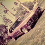 "New Wave Car Club: Photograph of a 1973 Buick Riviera (""Diamond"") belonging to Rolando Mazon"