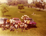 New Wave Car Club: Photograph of club members with trophies