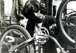 Nosotros Car Club: Photograph of a bike workshop hosted by Nosotros Car Club