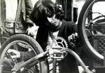Nosotros Car Club: Photograph of a bike workshop hosted by Nosotros Car Club