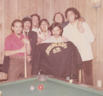Nosotros Car Club: Photograph of club members playing pool