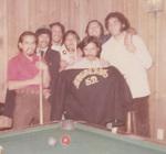 Nosotros Car Club: Photograph of club members playing pool