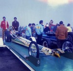 "Serra Car Club: Photograph of ""The Eagle"" drag racer belonging to Mathias Ponce"