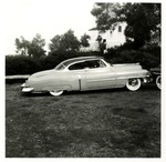 Serra Car Club: Photograph of a 1953 Cadillac belonging to David Ponce at Presidio Park