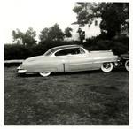 Serra Car Club: Photograph of a 1953 Cadillac belonging to David Ponce at Presidio Park