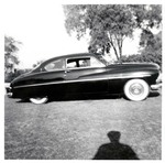 Serra Car Club: Photograph of a 1950 Mercury at Presidio Park