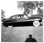 Serra Car Club: Photograph of a 1950 Mercury at Presidio Park