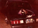 Specials Car Club: Mural on a 1979 Chevrolet Monte Carlo belonging to Weissy