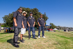 Unidos Car Club: Photograph of Unidos Car Club members at Lowrider Council event at Mission Bay