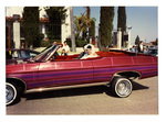 Unlimited Car Club: Photograph of Ben Osorio's 1969 Chevy Impala being used in a wedding