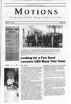 Motions 2002 volume 37 number 6 by University of San Diego School of Law Student Bar Association