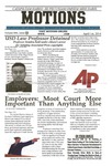 Motions 2014 volume 666 by University of San Diego School of Law Student Bar Association