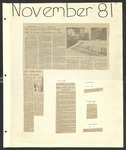 USD News Scrapbook 1981-1982 by University of San Diego