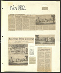 USD News Scrapbook 1982-1984 by University of San Diego