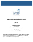 2009 Applied Projects Organizational Impact Report by Heather Carpenter and Paula Krist