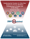 2017 zero8hundred's Continuing the Promise of a New Day: Support for Service Members Transitioning to Civilian Life in San Diego